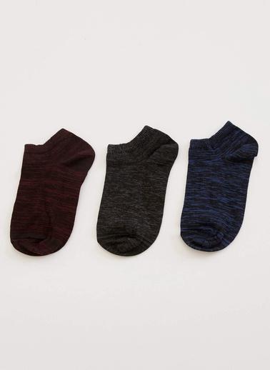 DeFacto 3'lü Çorap Renkli